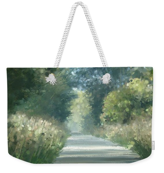 The Road Back Home Weekender Tote Bag