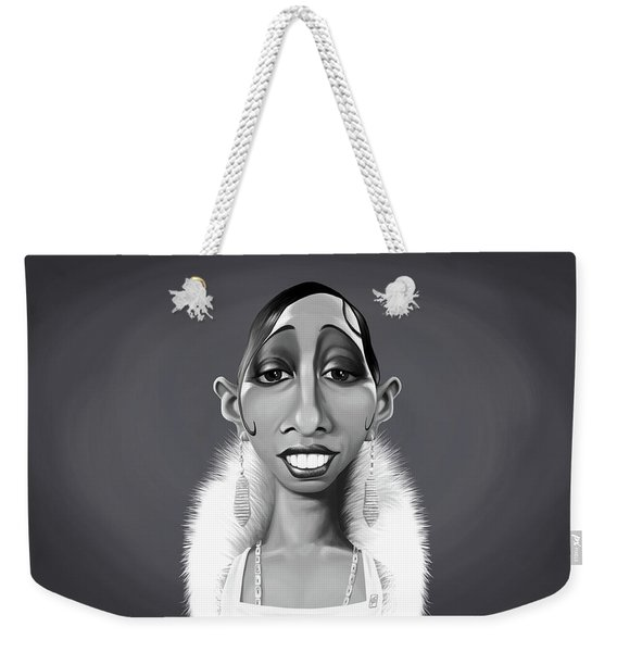Celebrity Sunday - Josephine Baker Weekender Tote Bag