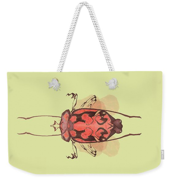 Crowned Horn Bug Specimen Weekender Tote Bag