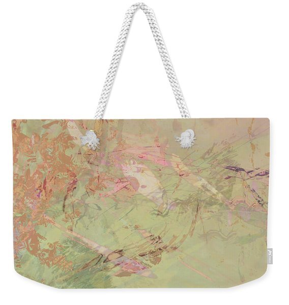 Wabi Sabi Ikebana Romantic Fall Weekender Tote Bag