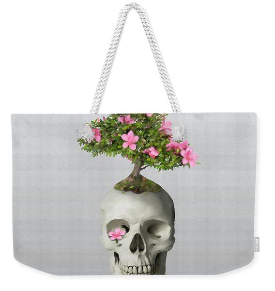 Bonsai Skull Weekender Tote Bag