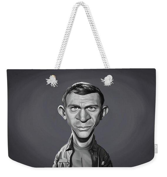 Celebrity Sunday - Steve Mcqueen Weekender Tote Bag