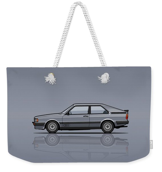 Four Rings Coupe Gt B2 Stone Grey Metallic Weekender Tote Bag