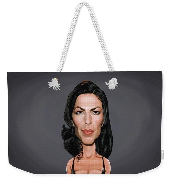 Celebrity Sunday - Claudia Black Weekender Tote Bag