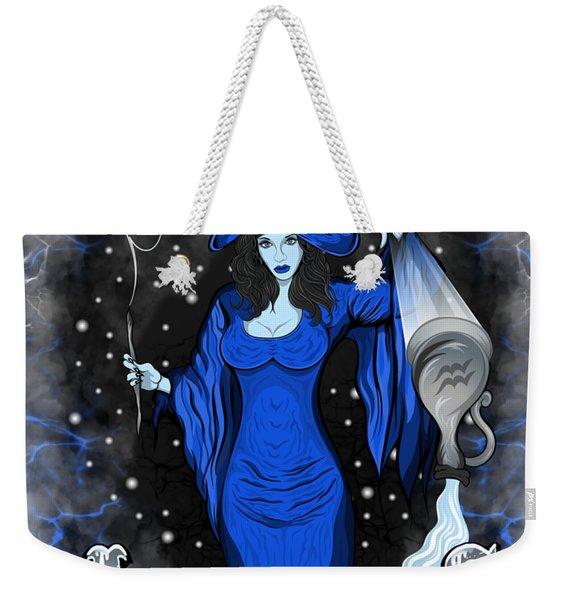 The Water Bearer Aquarius Spirit Weekender Tote Bag