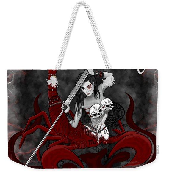 The Scorpion Scorpio Spirit Weekender Tote Bag