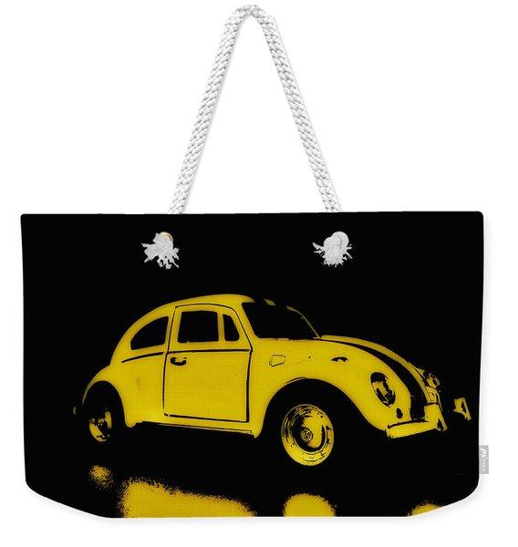 Yellow Bug Weekender Tote Bag