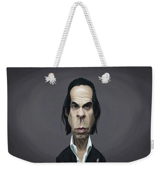 Celebrity Sunday - Nick Cave Weekender Tote Bag