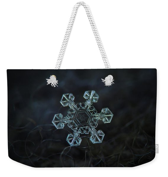 Real Snowflake - Ice Crown New Weekender Tote Bag