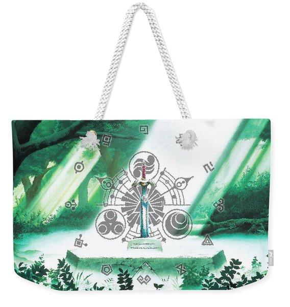 Zelda Shine Sword Weekender Tote Bag