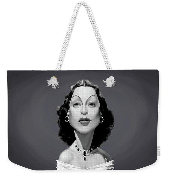 Celebrity Sunday - Hedy Lamarr Weekender Tote Bag