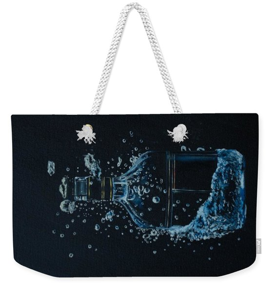 Dry, Bottle Art Weekender Tote Bag