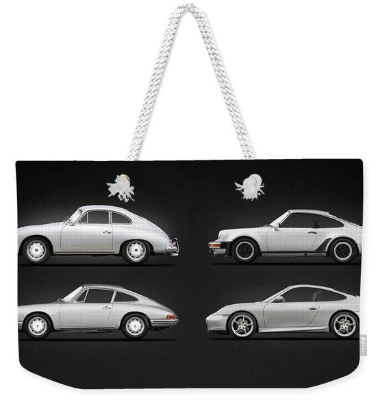 Evolution Of The 911 Weekender Tote Bag