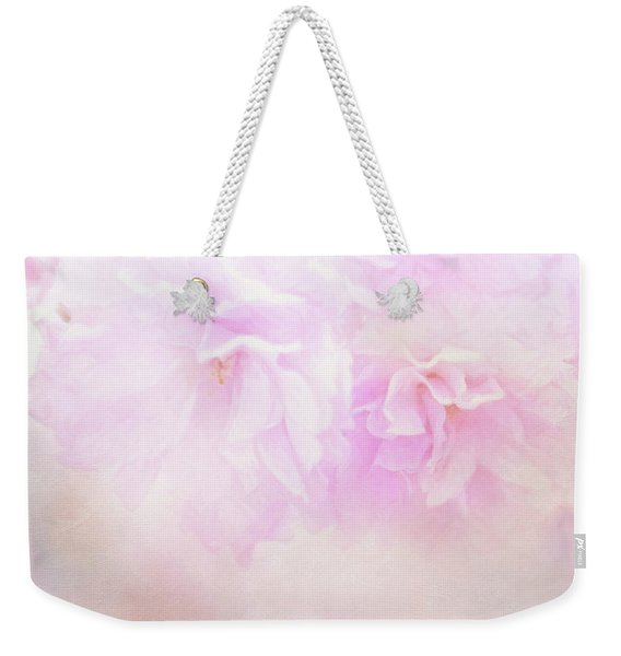 Cherry Blossom Valentine Weekender Tote Bag
