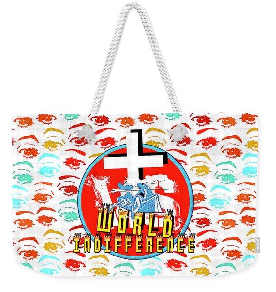 Indifference Weekender Tote Bag