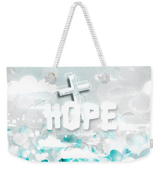 A Heart For Jesus Weekender Tote Bag