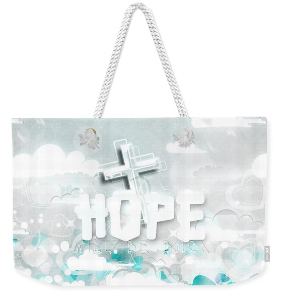 A Heart For Jesus Weekender Tote Bag