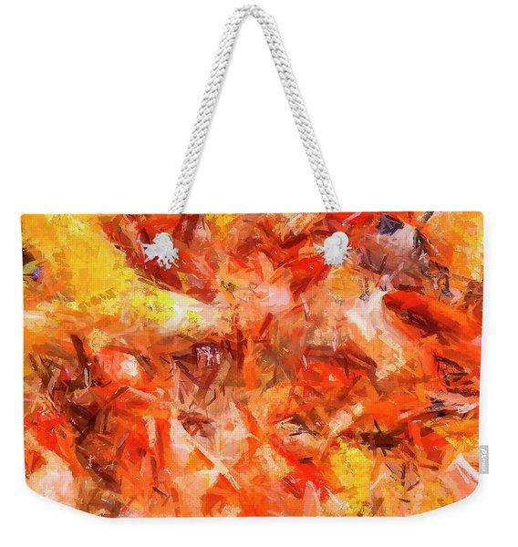 Say Weekender Tote Bag