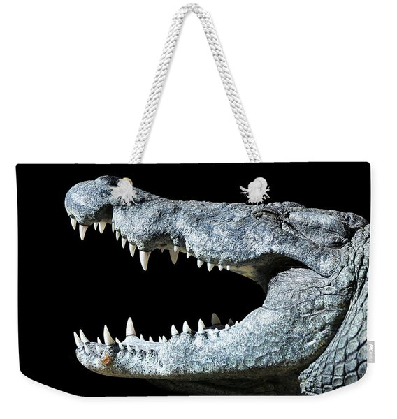 Nile Croco-smile Weekender Tote Bag
