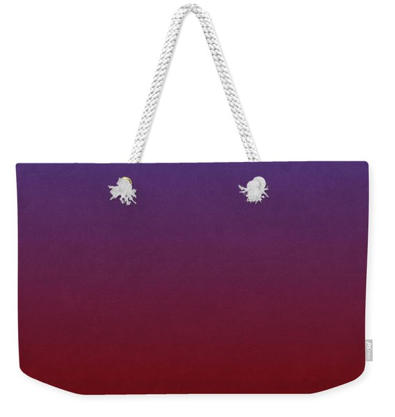 Banana Flower Portrait Weekender Tote Bag