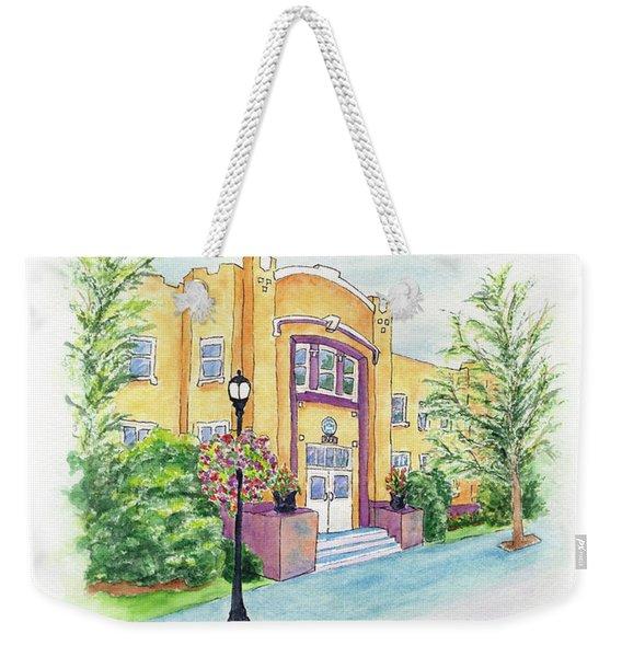 Historic Armory Weekender Tote Bag