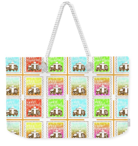 In Person With Love Weekender Tote Bag