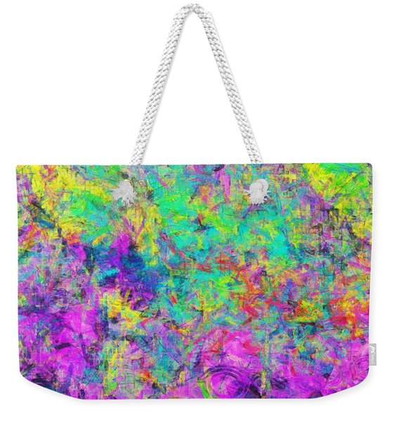 Healing Time Weekender Tote Bag