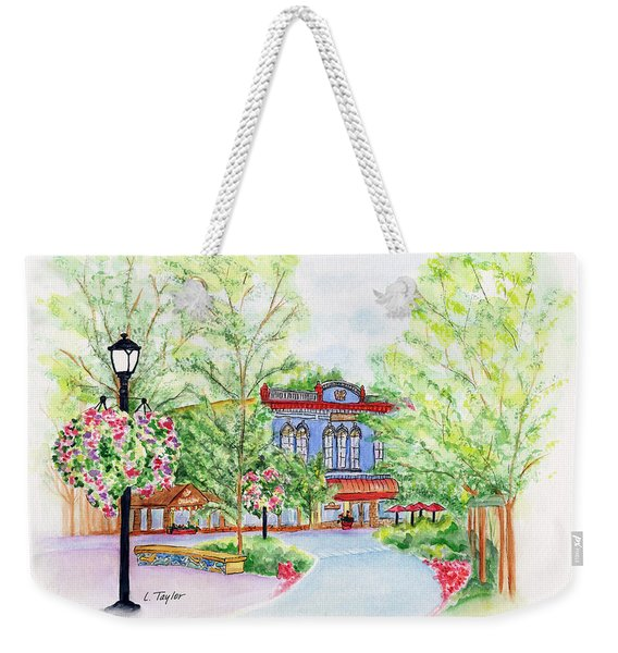 Black Sheep On The Plaza Weekender Tote Bag