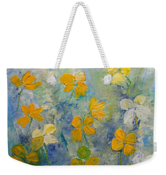 Blossoms In Breeze Weekender Tote Bag