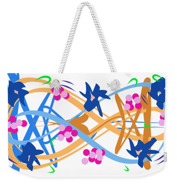 Abstract Garden #3 Weekender Tote Bag