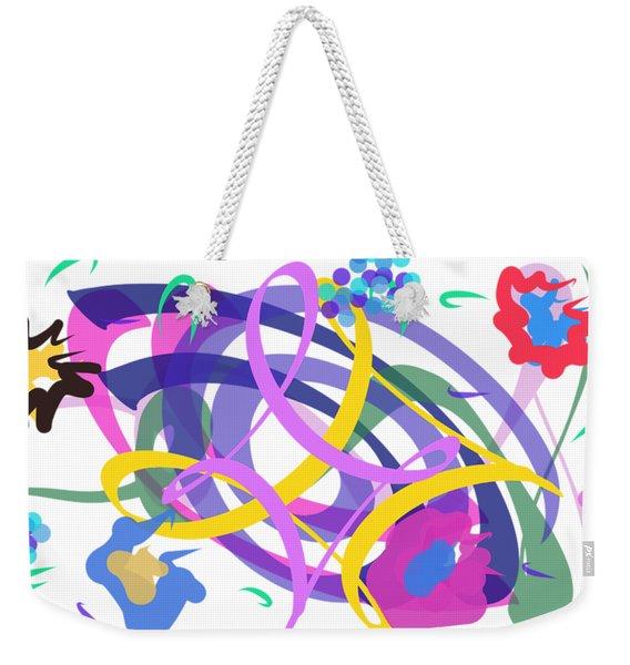 Abstract Garden #2 Weekender Tote Bag