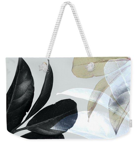 Moody Leaves Weekender Tote Bag