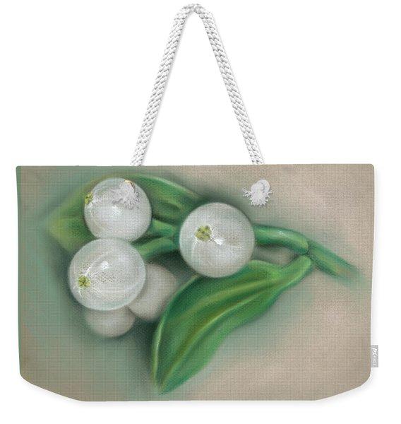 Mistletoe Berries Weekender Tote Bag