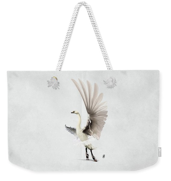 Lake Wordless Weekender Tote Bag