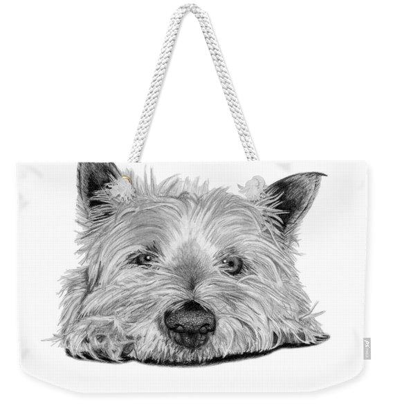 Little Dog Weekender Tote Bag