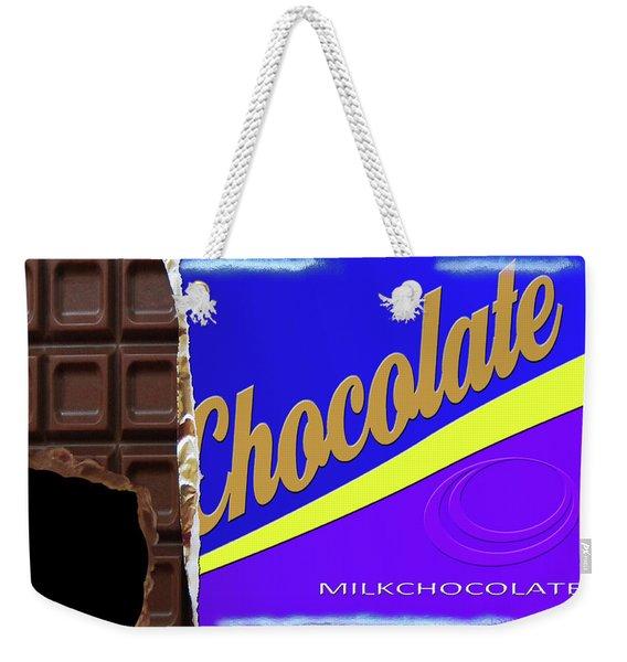 Chocolate Case Weekender Tote Bag