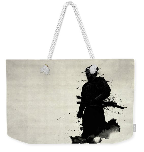 Samurai Weekender Tote Bag