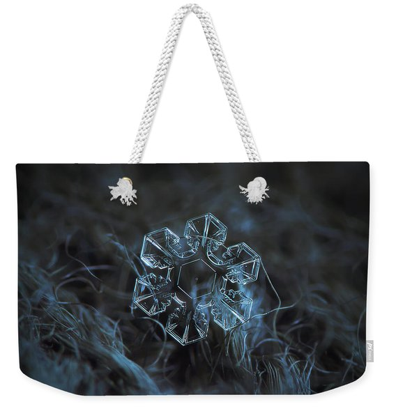 Snowflake Photo - The Core Weekender Tote Bag