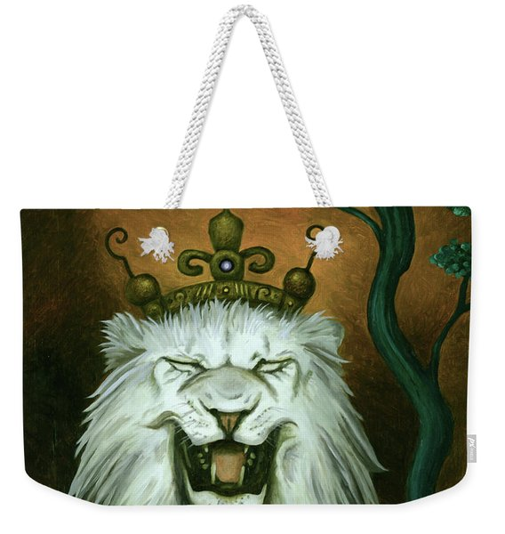 As The Lion Laughs Weekender Tote Bag