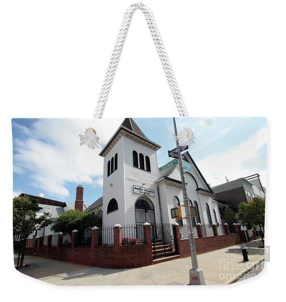 Asamblea Evangelica Evergreen Church Weekender Tote Bag