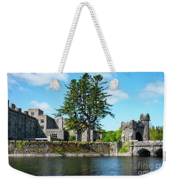Ashford Castle And Cong River Weekender Tote Bag
