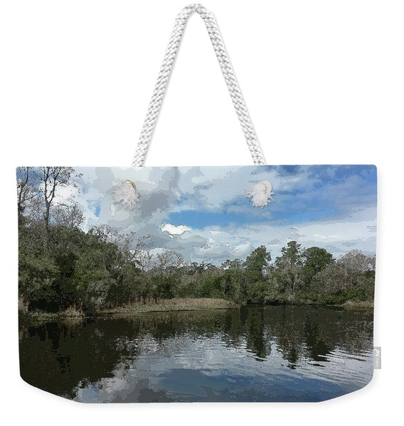 Ashley River Weekender Tote Bag