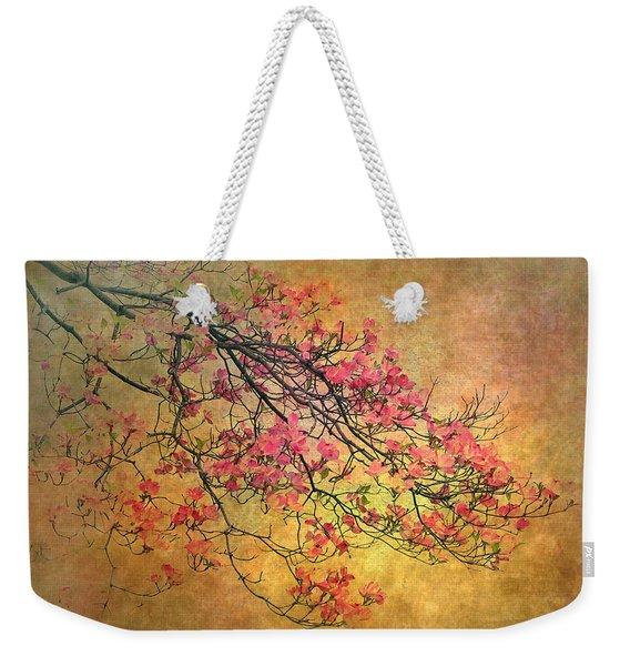 Asian Dogwood Weekender Tote Bag