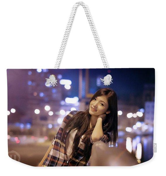 Asian Weekender Tote Bag