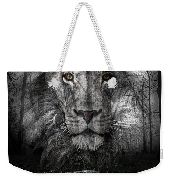 Aslan And The Stone Table Weekender Tote Bag