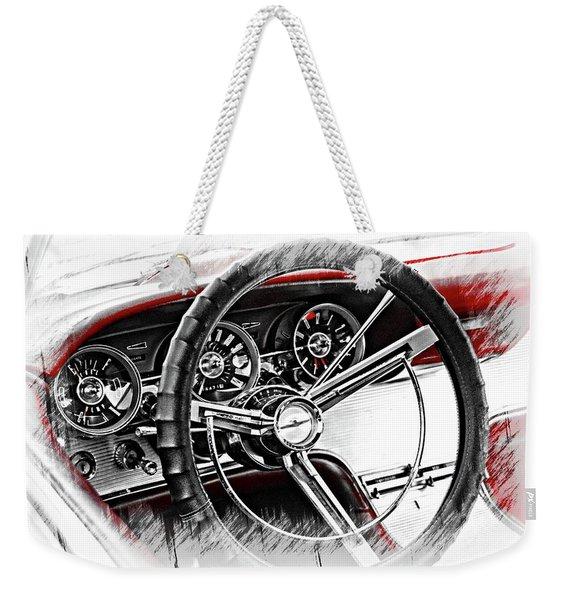 Asleep At The Wheel Weekender Tote Bag