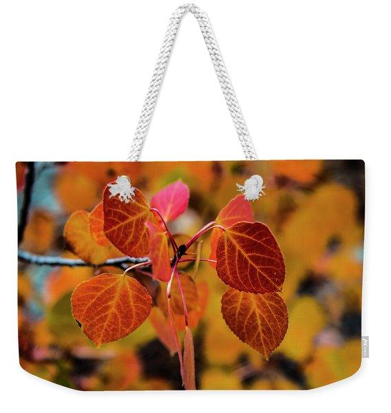 Aspen Aflame Weekender Tote Bag