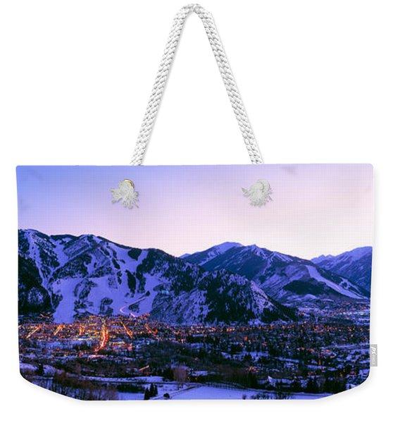Aspen, Colorado, Usa Weekender Tote Bag