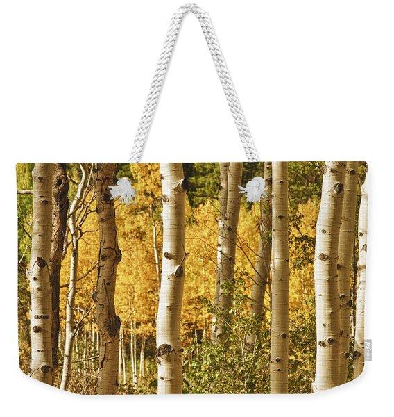 Aspen Gold Weekender Tote Bag