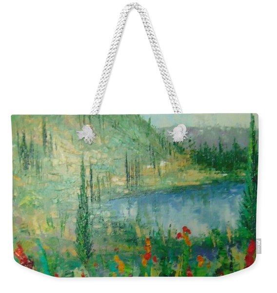 Aspen Lake Co Weekender Tote Bag